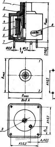 Конструкция дуктивности типов ки-б18-54, ки-б22-54